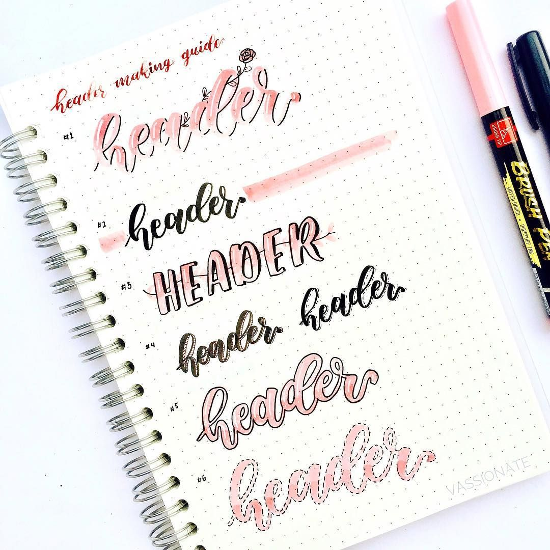 Die Kunst der schönen Buchstaben   so werden deine Überschriften ...