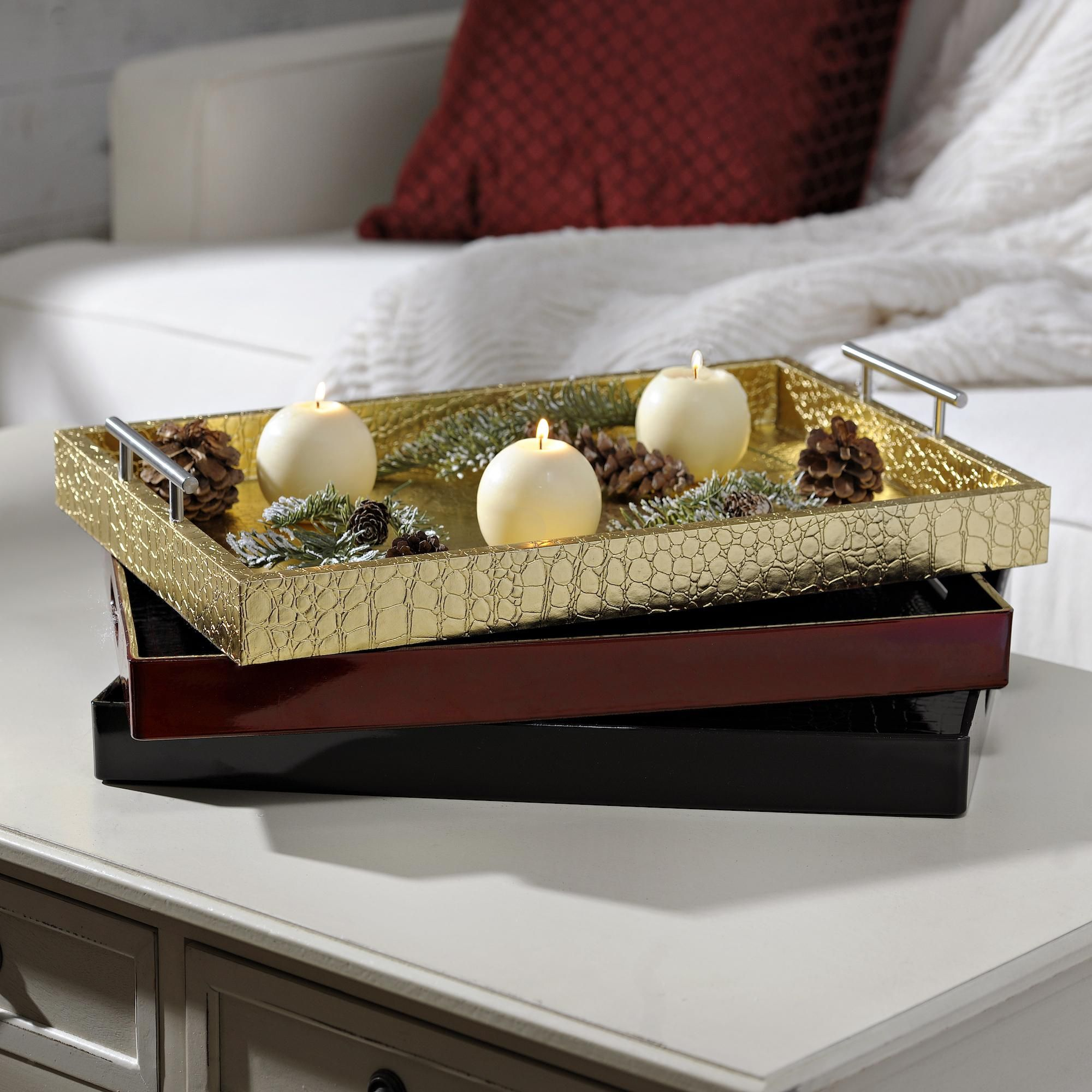 decorate your coffee table, console table or dining room table