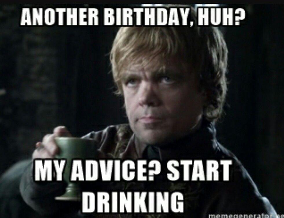 Tyrion lannister birthday | Birthday Memes | Pinterest ...
