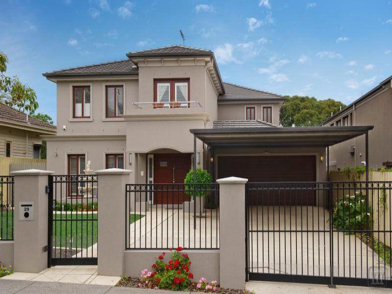 House Facades photo of a concrete house exterior from real australian home