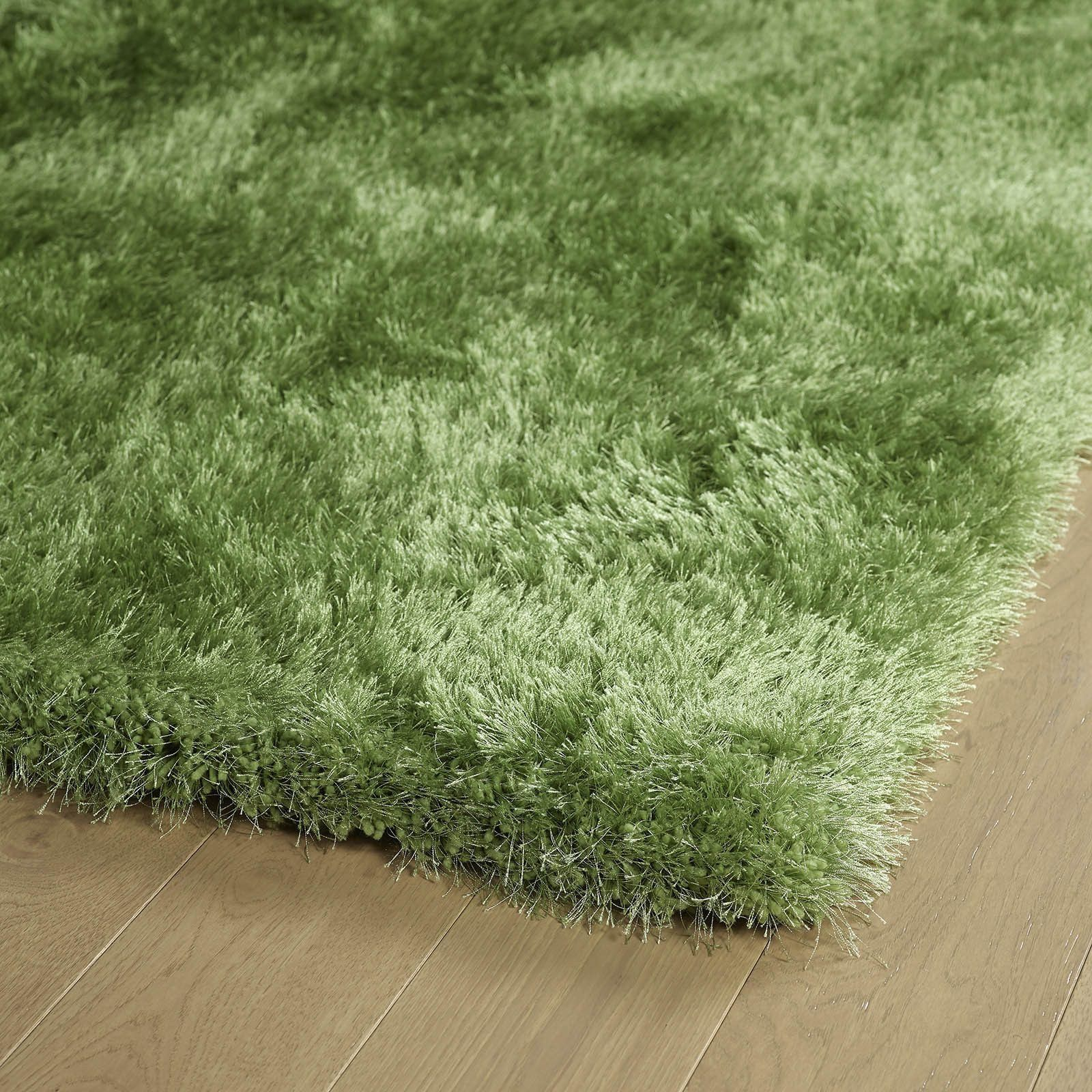 Kaleen Rugs, Posh Collection PSH01 96 Lime Green Shag Rug