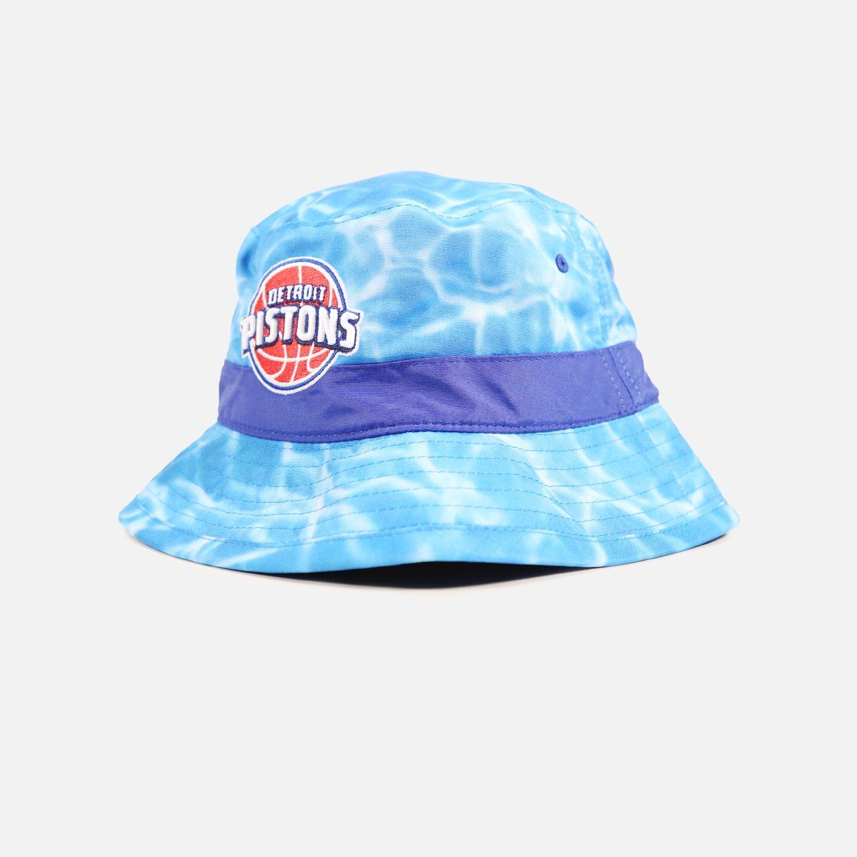 a7bc286e3b1 Mitchell   Ness Detroit Pistons Surf Camo Bucket Hat
