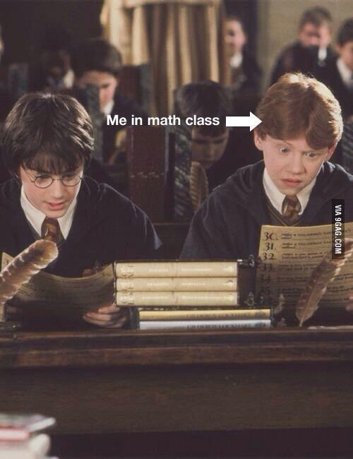 Me In Math Class Harry Potter Funny Harry Potter Jokes Harry Potter Memes