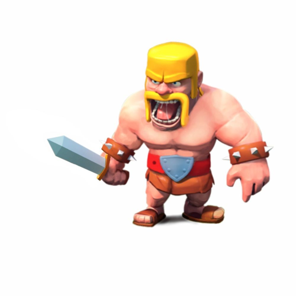 barbarian clash of clans pesquisa google character pinterest barbarian. Black Bedroom Furniture Sets. Home Design Ideas
