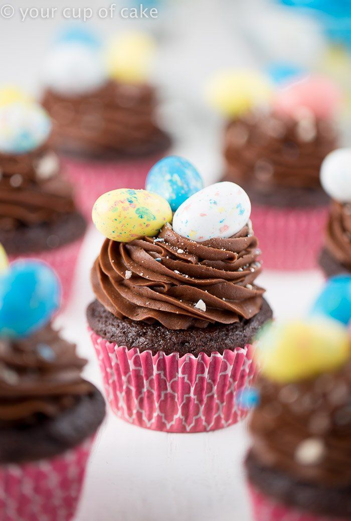 Chocolate Whopper Egg Cupcakes Recipe In 2020 Easter Cupcakes