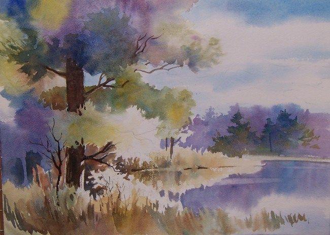 Watercolor Pine Trees Google Search Watercolor Landscape Paintings Landscape Paintings Landscape Art