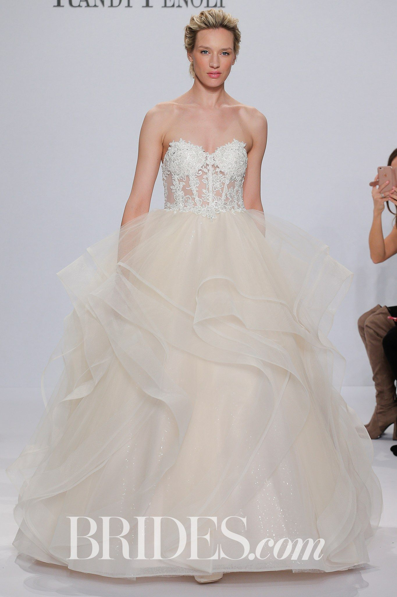 Randy Fenoli For Kleinfeld Bridal Wedding Dress Collection