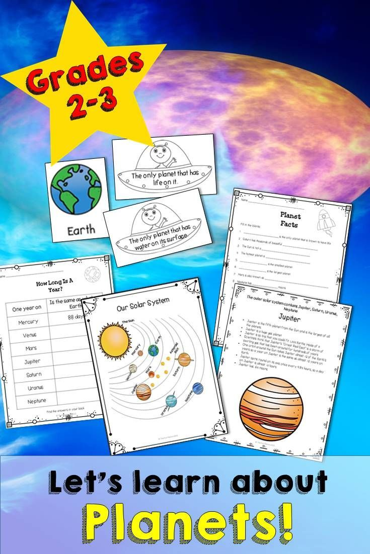 Everything You Need To Teach A Unit On Planets There Are 8 Planets Included In This Unit Pluto Is Mentioned As A D Activities The Fun Factory Science Reading [ 1102 x 735 Pixel ]