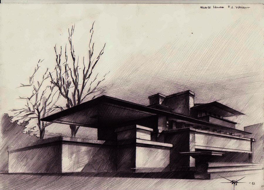 An Architectural Sketch By Perception Distorteddeviantart On DeviantART