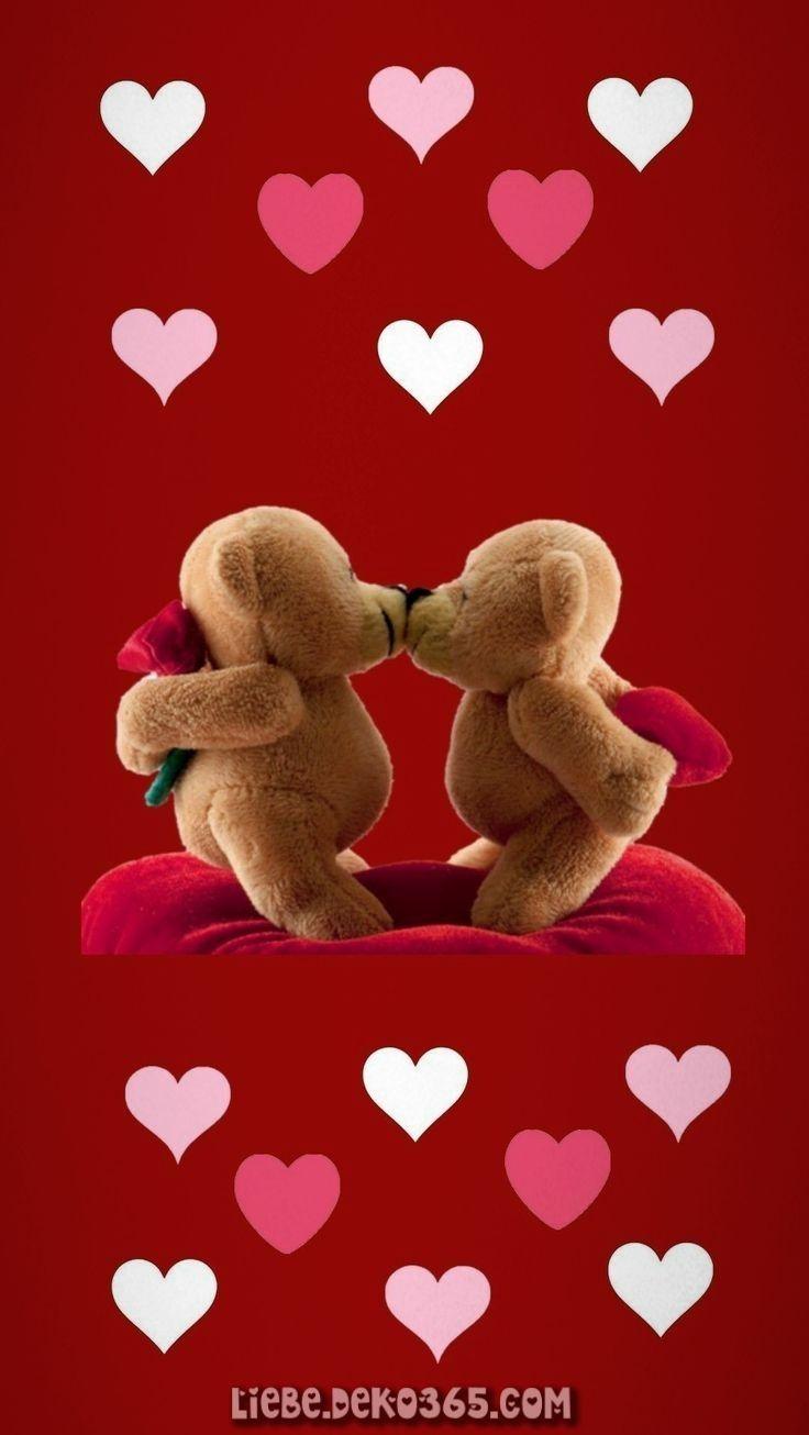 Zauberhafte Teddybär küssen #kussen #teddybar