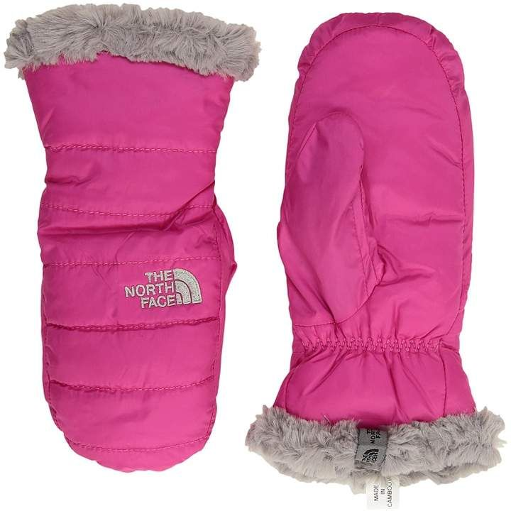 c3d5b046b The North Face Kids Reversible Mossbud Swirl Mitt Extreme Cold ...