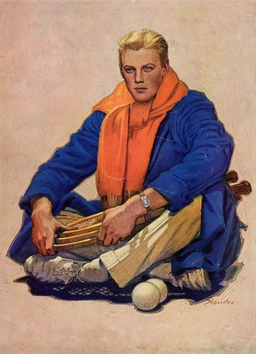 John E. Sheridan illustration for The American magazine, May 1931.