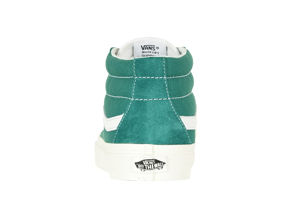 afef14a55d Vans SK8-Mid Reissue Skate Shoes (Retro Sport) Cadmium Green
