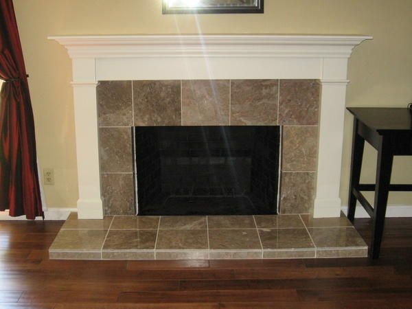 Fireplace Hearth And Mantel Job Fireplace Tile Fireplace