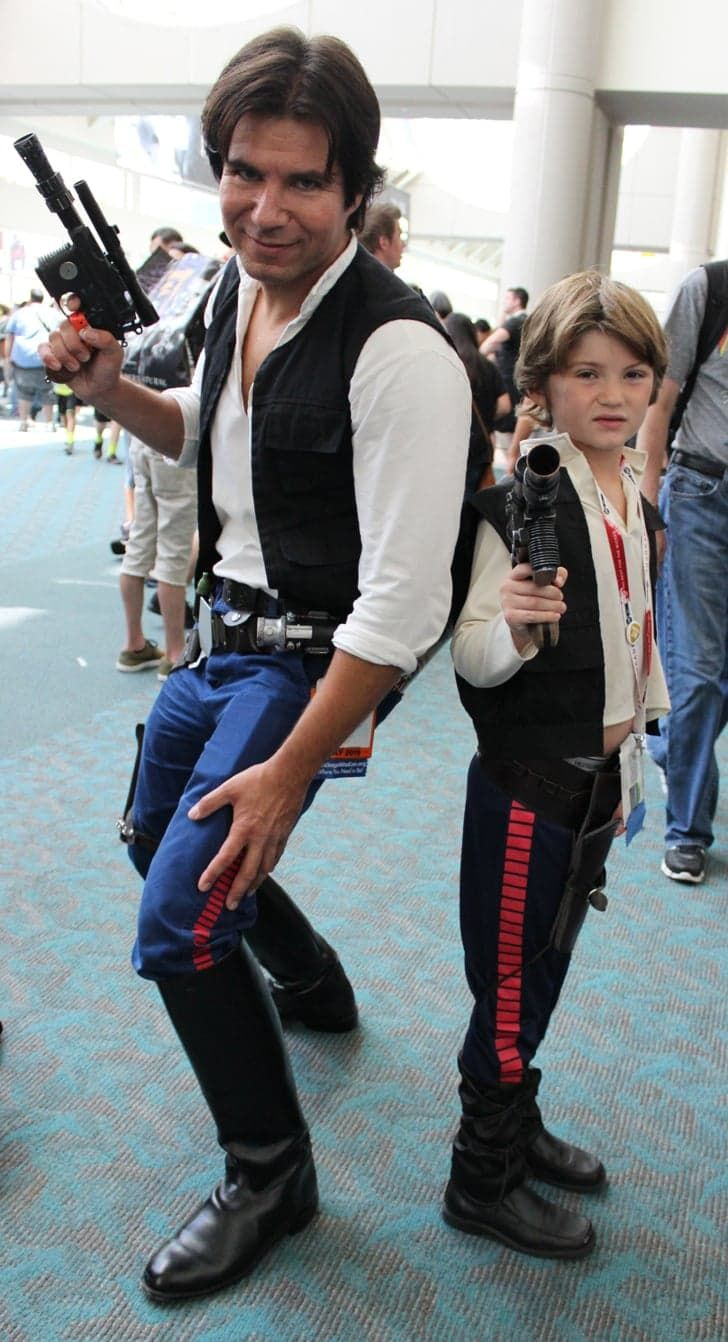 Pin for Later: The Absolute Best Cosplays From Comic-Con 2015 Han Solo(s)