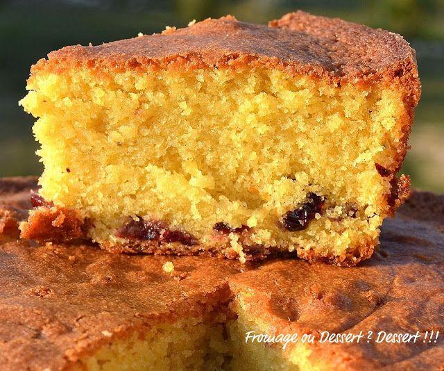 Fromage ou Dessert ? ... DESSERT !!!: Le Gâteau aux cranberries de Giada