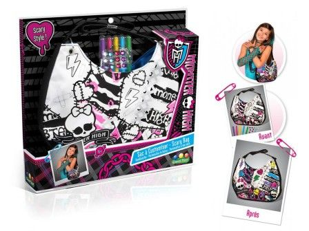 Free Loisirs Creatifs Monster High Customiser Sac Pour