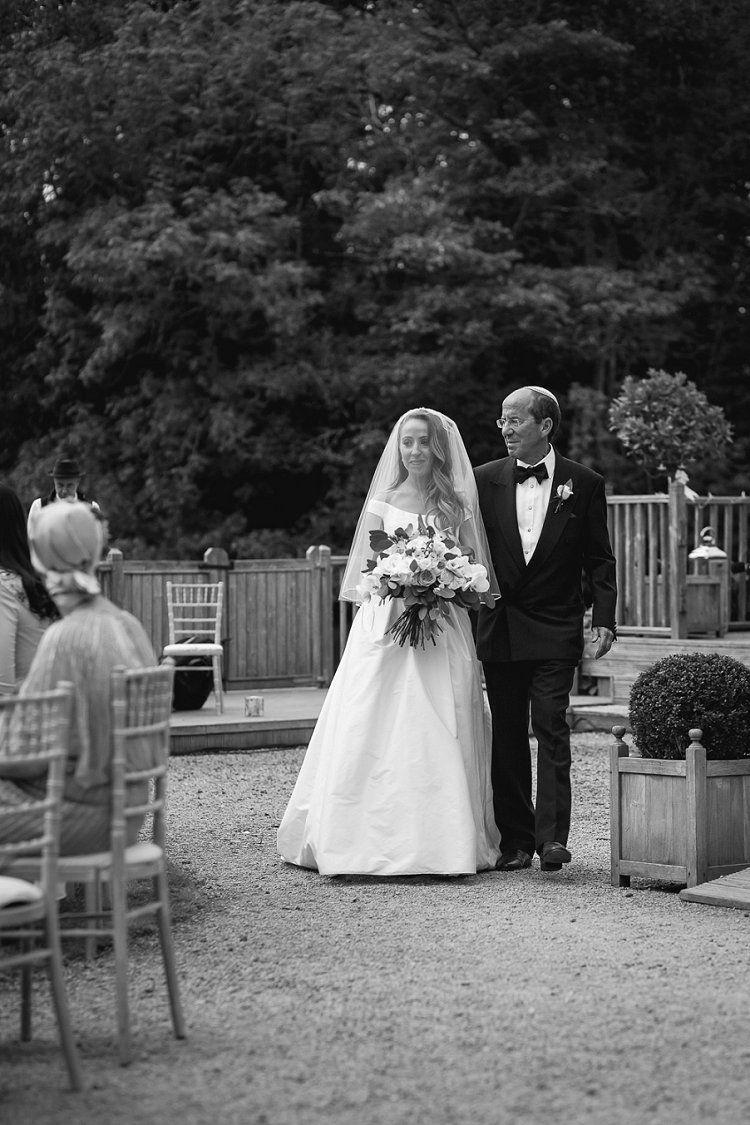 A Stewart Parvin Bride for an Epic Secret Garden Jewish