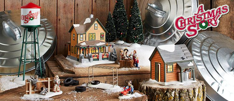 a christmas story village villages department 56