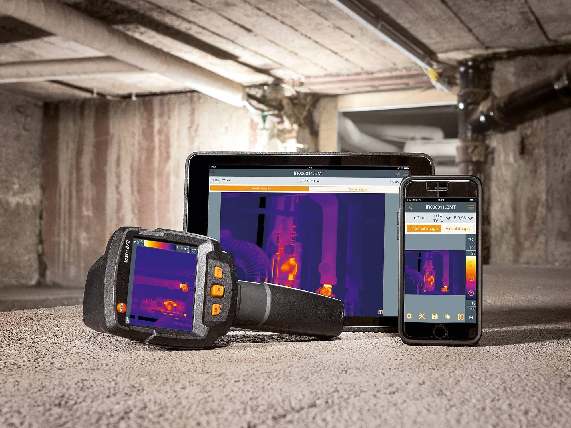 testo 868 Thermal Imaging Camera with App Part No. 0560 86