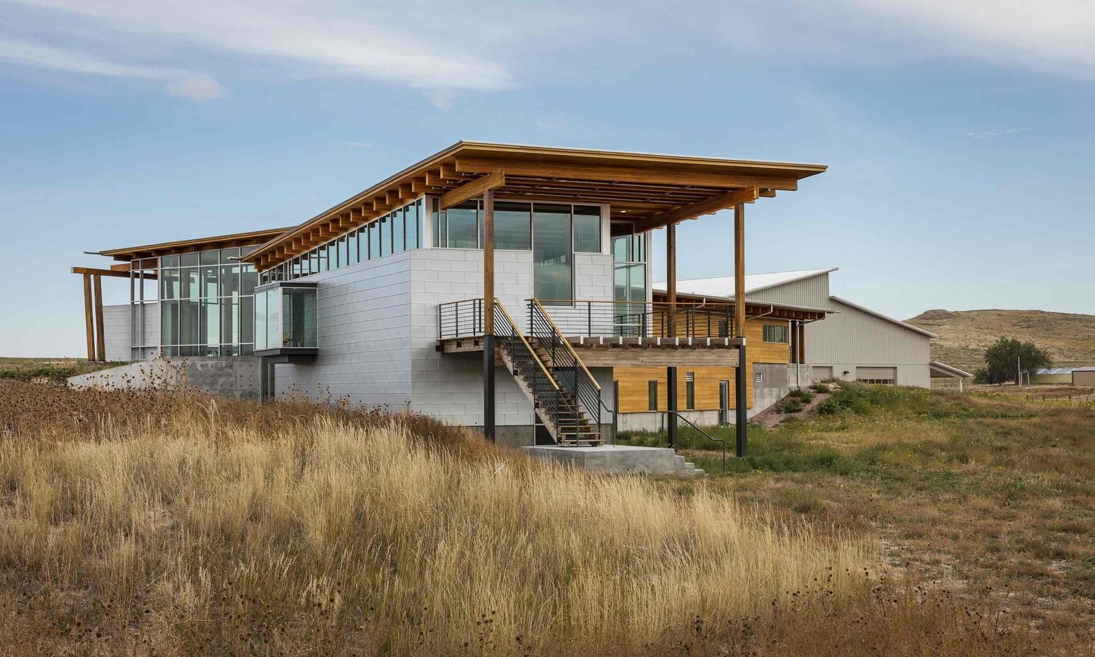 Gallery of rangeland laboratory facility bvh architecture