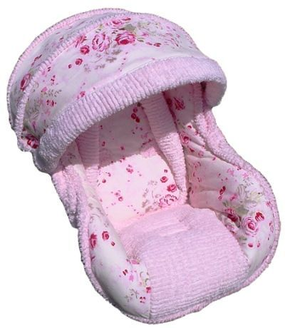 Baby Car Seat Covers | Pink Infant Car Seat Cover for Girls - Infant ...
