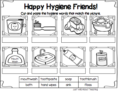 Printables Hygiene Worksheets For Elementary Students 1000 ideas about hygiene lessons on pinterest personal solar system and at risk youth
