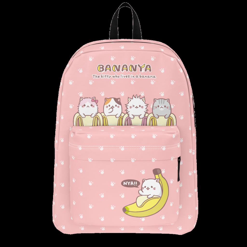 Bananya Bunch Of Bananyas Backpack Baglady Backpacks Bags