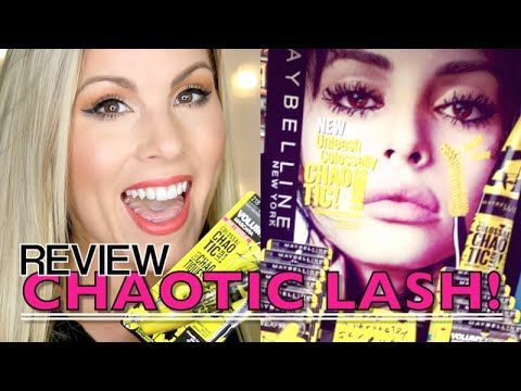 c517b1a588d NEW Maybelline Colossal Chaotic Lash Mascara Review + 1st Impression -  YouTube