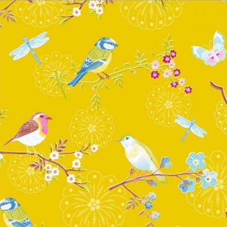 Early Bird Yellow tapetti