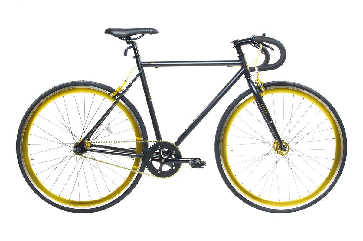 Alton Corsa Fixie 700C DP-780 Frame Fixed Gear Bike, Black, 19 ...