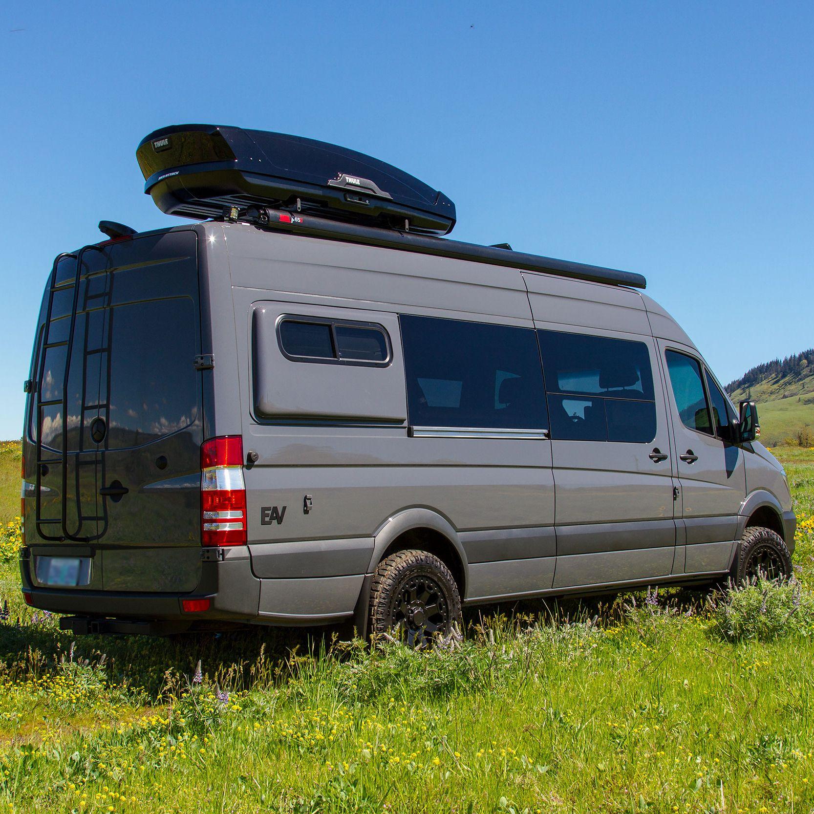 Pin By Eero Taaker On Autosuvila Sprinter Van Recreational