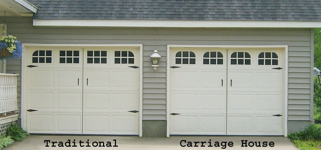 Garage Door Window Decal Carriage House Single Stall 4500 Via