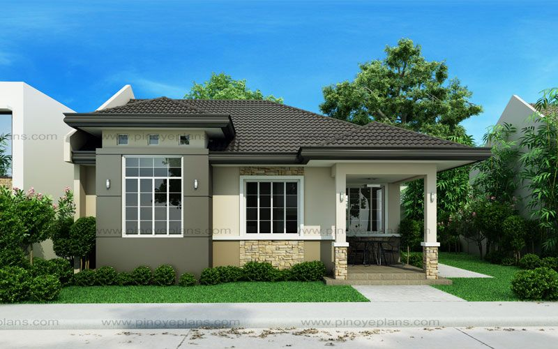 Small House Design Shd 2015013 Pinoy Eplans Simple House Design House Design Photos Porch House Plans