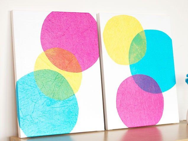 25 Easy (Virtually Free) Home Decor Cover-ups   Tissue paper ...