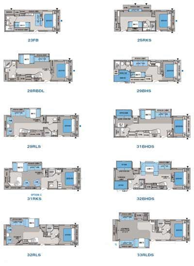 Elegant 2017 Jay Flight 26BH Floorplan