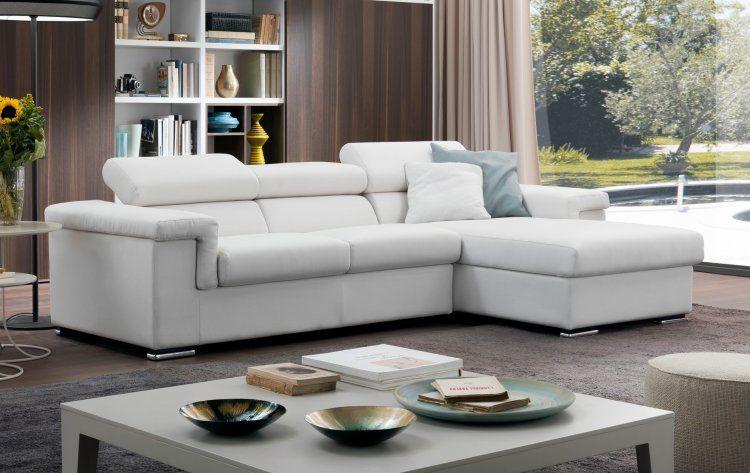 divano in tessuto bianco sfoderabile Divani, Soggiorno