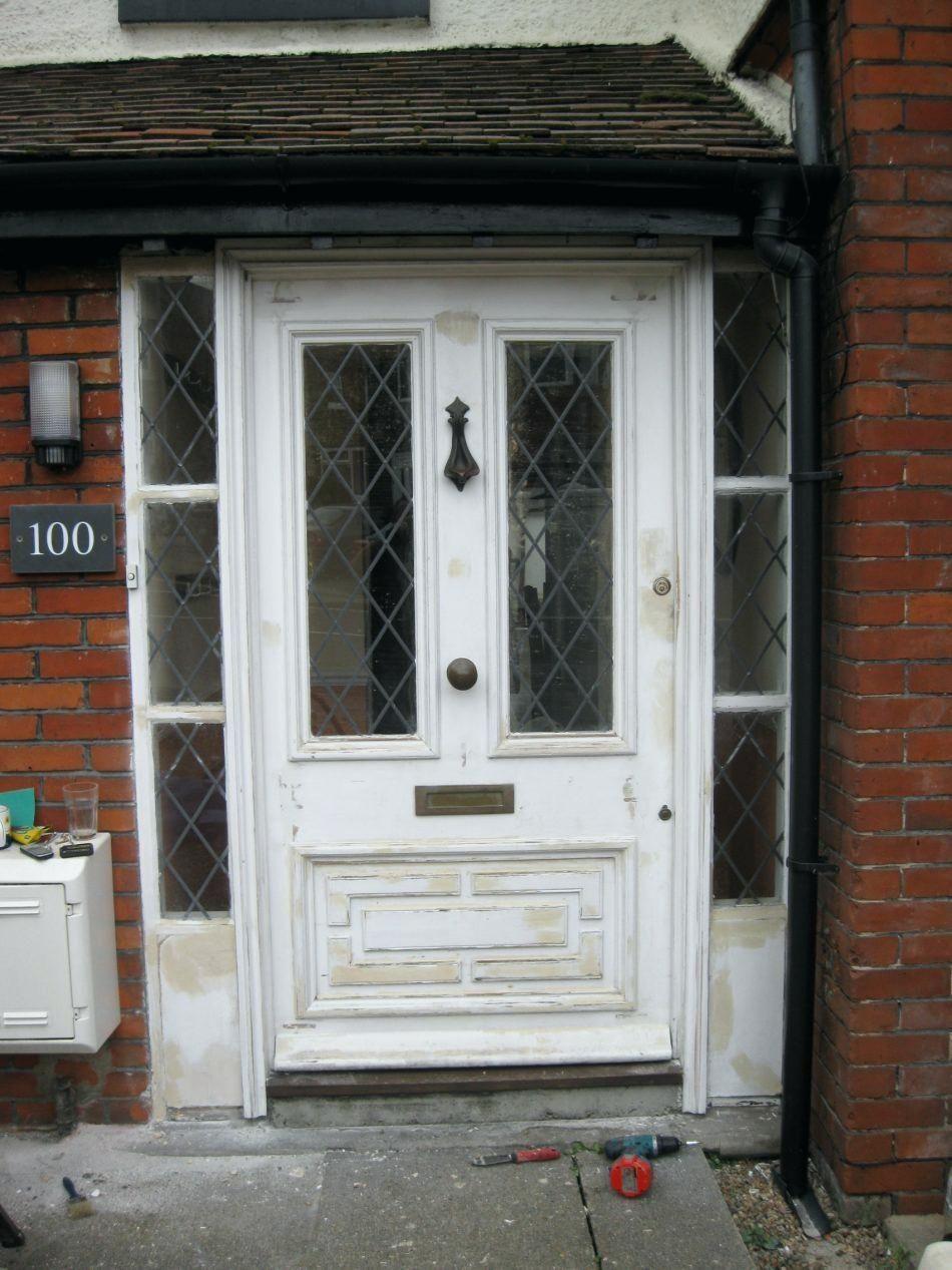Outward Opening Exterior Door  kcbins