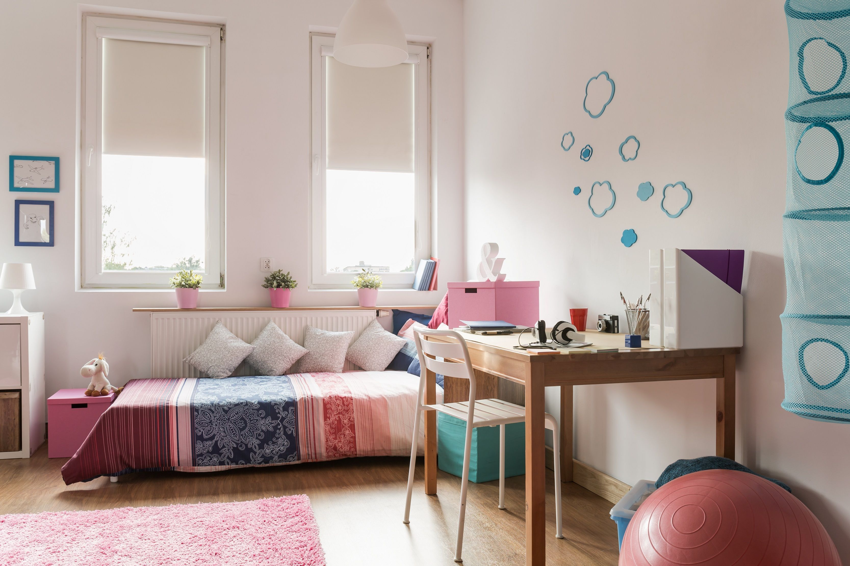 Ideen Wandgestaltung Jugendzimmer Mädchen