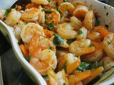 Cilantro Lime Shrimp  Please and thank you!
