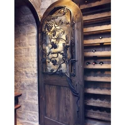 Traditional Interior Door From Wrought Iron Art Ltd