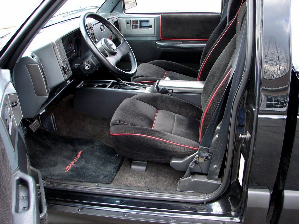 Ten facts about the gmc syclone 1 a few other upgrades were cars sciox Gallery