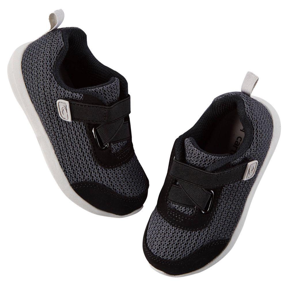 Carters toddler Boys Black Tennis Shoes