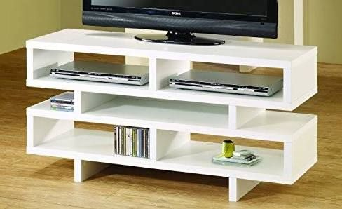 White And Gold Tv Stand Apartment Idea 1 In 2018 Gold Tv Stand Tvs