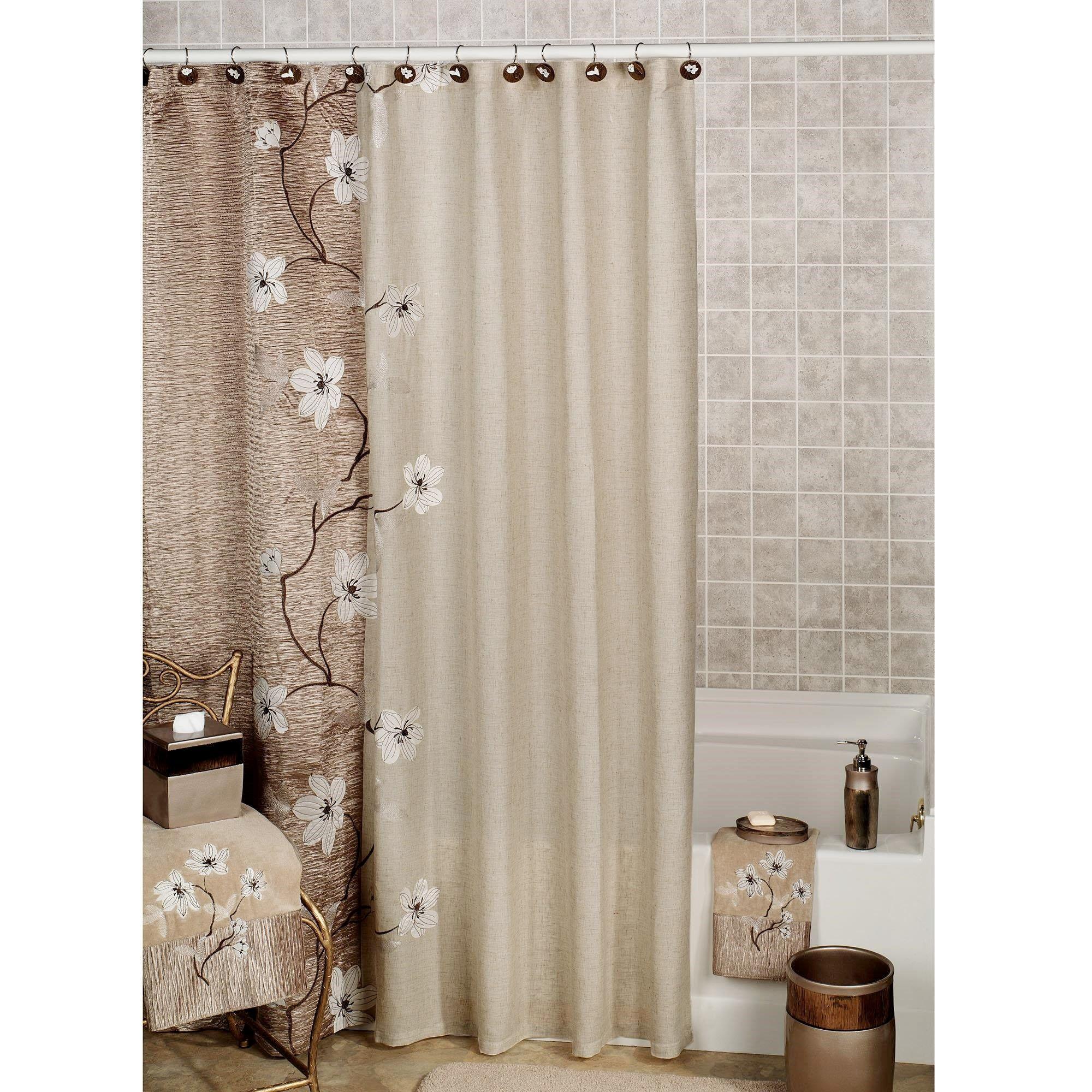 23+ Elegant Bathroom Shower Curtain Ideas, Photos, Remodel and ...