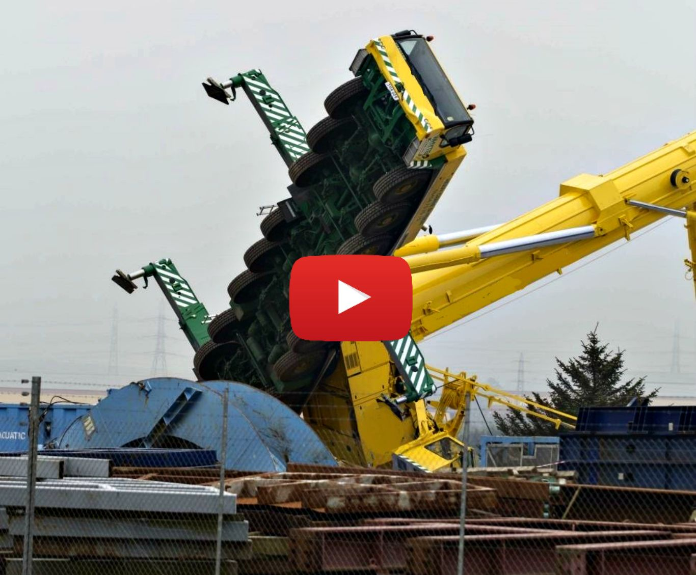 Crane Crashes. Large construction equipment fail. Share With Your Friends Related More Videos ...
