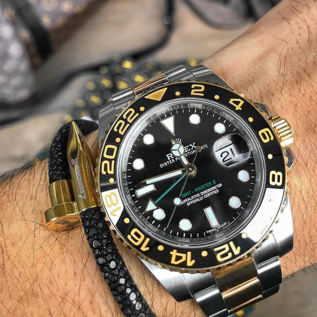 Beautiful Rolex GMTMaster II is perfect for your