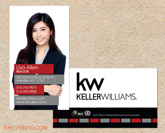 realtor business cards, keller williams realtor business cards ...