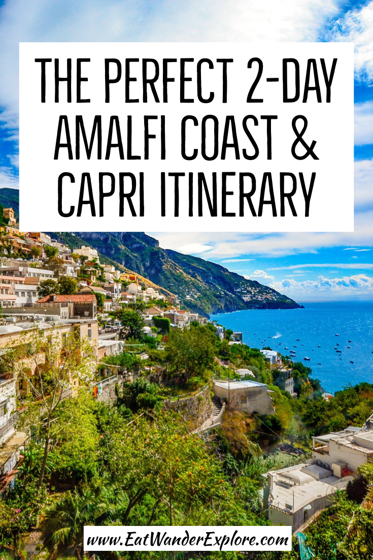 Photo of Amalfi Coast and Capri Itinerary | 2-day Amalfi Coast itinerary | Italy Bucket L…