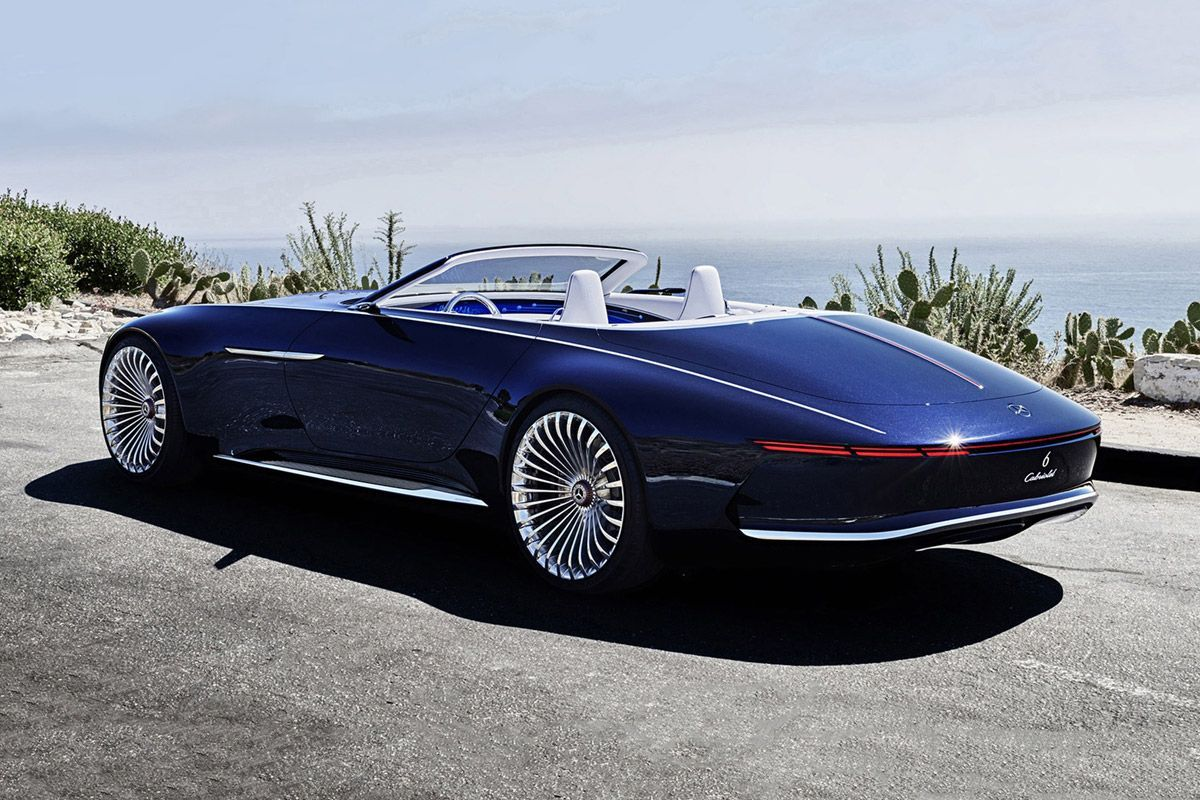 Mercedes Maybach Vision 6 Cabriolet, Electric Super Luxury Concept Car |  Maybach, Cars And Luxury Yachts